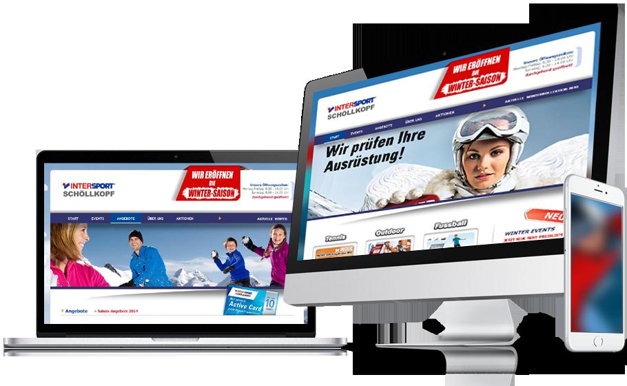 Refonte complète du site web Sport Schöllkopf.de, Ergonomie et parcours utilisateur, SEO
